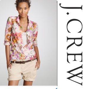 J crew watercolor shirt